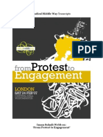 "Imam Suhaib Webb on ""From Protest to Engagement"""