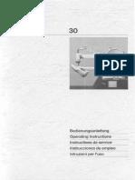 Adler 30 Instruction Manual