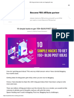 150+ blog post ideas to make your blogging life easy_