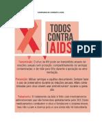 CAMPANHA DE COMBATE A AIDS