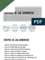 EFECTO DE LOS ARMONICOS