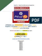 Baixar Curso Pinterest Pro - Tatiane Faria 2020 Download Google Drive