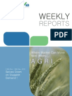 Agro Commodity Reports for the Week (29th November - 3rd December - 2010)