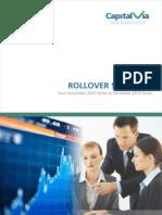 Rollover Statistics Report - November 2010
