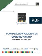 Informe Gobierno Abierto 2016-2018