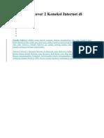 Tutorial Failover 2 Koneksi Internet di Mikrotik