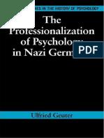 Richard Holmes, Ulfried Geuter - The Professionalization of Psychology in Nazi Germany 358