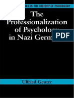 Richard Holmes, Ulfried Geuter - The Professionalization of Psychology in Nazi Germany 358