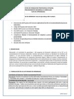 Guía de Aprendizaje APLC Unidad 1