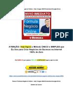 Baixar Fórmula Negócio Online - Alex Vargas 2020 Download Google Drive