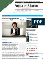 Escritores do Oriente Médio encontram refúgio em obras distópicas - 30_05_2016 - Ilustrada - Folha de S.Paulo