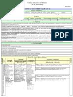 BGU Ciencias Primero - Emprendimiento y Gestión - Planificacion anual