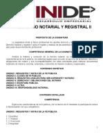 GUIA DERECHO NOTARIAL Y REGISTRAL II