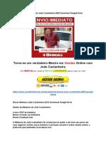 Baixar Mentoria João Castanheira 2020 Download Google Drive