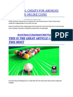 8 Ball Pool Cheats for Android Mobile for Online Coins