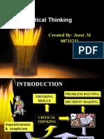 Critical Thiking Edit 09nov07