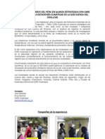 El Instituto Geofísico del Perú en alianza estratégica con CARE Huancayo instala estaciones climáticas en la sub cuenca del Shullcas