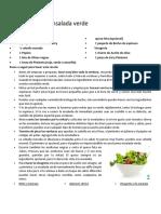Receta de Ensalada verde.docx