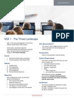 2018Q1 NSE 1 Master Course Description