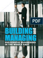 Building and Managing Successfully Businesses in the Middle East