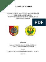 2014 KAJIAN PENYUSUNAN DATA BASE DRAINASE PERKOTAAN JEMBER.pdf