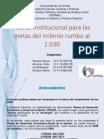 MARCO INSTITUCIONAL ODS