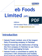 a marketing analysis of haleeb foods Historical background haleeb foods pvt ltd started its business in 1984 with the name chaudhry dairies ltd marketing analysis and relaunch of haleeblabban.