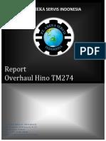 form report Overhaul TM 274 Rev