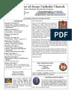 MMJ Bulletin 11-28-10