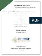 CB REPORT