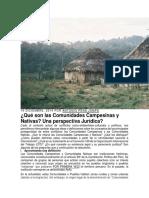 Que son las CC y CN del Peru