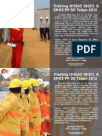 0812 3182 3971 ( TSEL ) Training OHSAS 18001 MMP COMPANY
