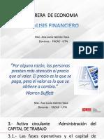 GUIA  ACADEMICA DE  ANALISIS FINANCIERO UNIDAD  TRES