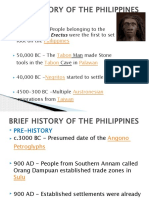 BRIEF HISTORY OF THE PHILIPPINES.NSTP2017-2018