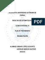 Plan de FIJO PX. SOLEDAD PALAFOX
