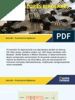 ELETRÔNICA DE BANCADA AULA 06 TRANSISTORES BIPOLARES