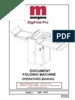 Digifold Pro Operators Manual