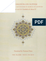Yumna Ozer - Ibn Khaldun on Sufism Remedy for the Questioner in Search of Answers