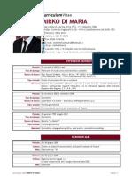 CV Mirko Di Maria