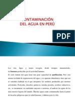 Conta de la agua en el Peru