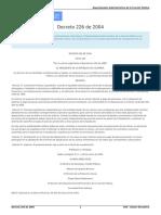 Decreto 226 de 2004