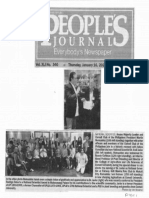 Peoples Journal, Jan. 16, 2020, National Scientist House of Majority Leader and Cornell Club of the Philippines President Martin Romualdez.pdf