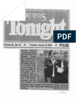 Peoples Tonight, Jan. 16, 2020, National Scientist House Majority Leader and Cornell Club of the Philippines President Martin Romualdez.pdf