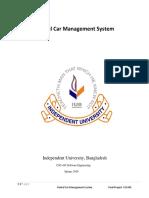Rental Car Management System