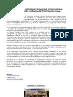En foro regional sobre descentralización e interculturalidad para una educación con equidad se presenta el PEL Huaraz