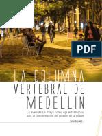 LA COLUMNA VERTEBRAL DE MEDELLIN