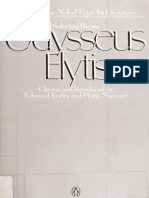 Selected poems - Elytes, Odysseas, 1911