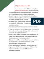 Story of Donald Trump