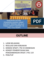 SOSIALISASI  PSC 119.ppt