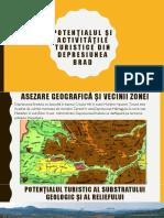 Potențialul și activitățile turistice din Depresiunea Brad.pptx